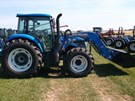 Tractor For Sale:   New Holland (NEW) T4.120 Utility C4 LDR , 117 HP