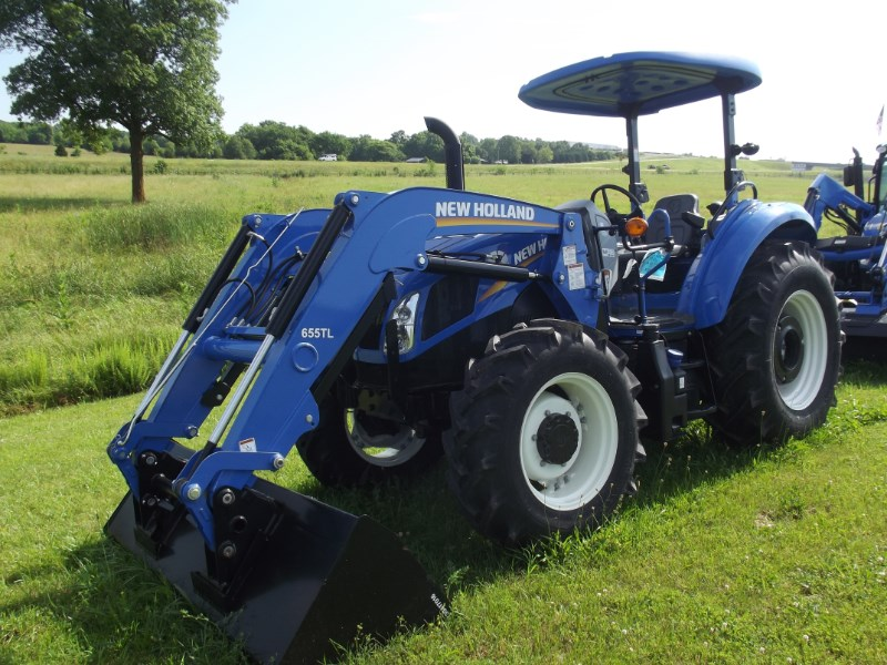 2016 New Holland (NEW) T4.100 4x4 Deluxe Tractor For Sale