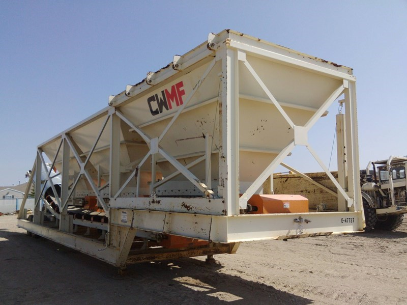 2016 CWMF 3 BIN Feeder For Sale