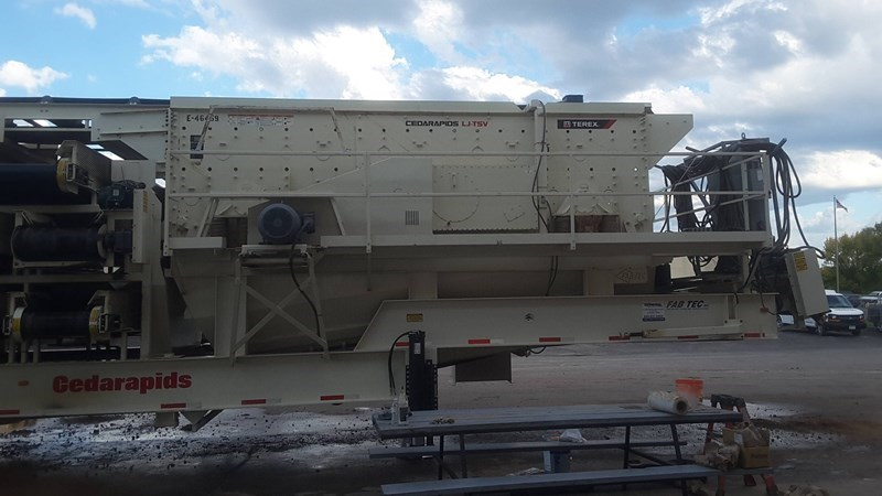 2016 FABTEC 7203-T Screening Plant For Sale