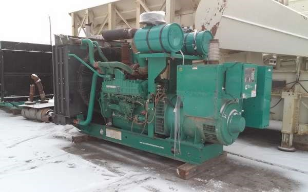 2007 CUMMINS-ONAN 900 KW Generator & Power Unit For Sale