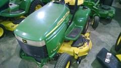 Riding Mower For Sale:  2001 John Deere LX277