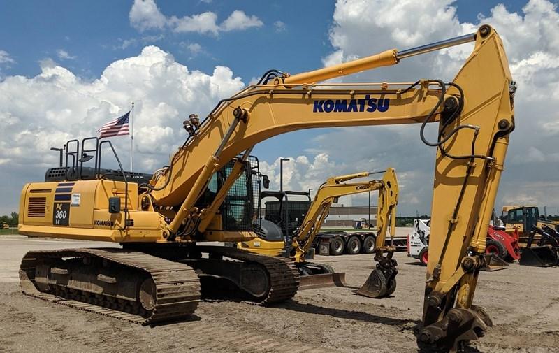 2013 Komatsu PC360LC-10 Excavator For Sale