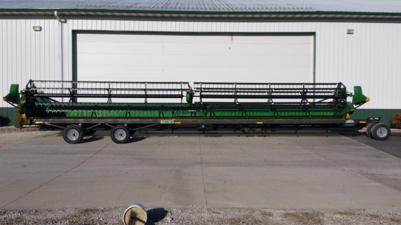 2015 John Deere 640FD Header-Draper/Flex For Sale