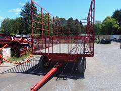 Bale Wagon-Pull Type For Sale Misc B&E 9X18 BALE WAGON W/E-Z TRAIL 872 8T GEAR