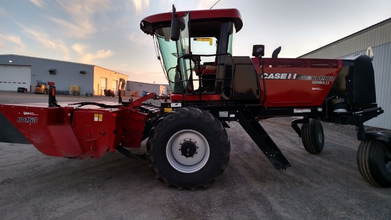 2014 Case IH WD1903 Windrower-Self Propelled For Sale