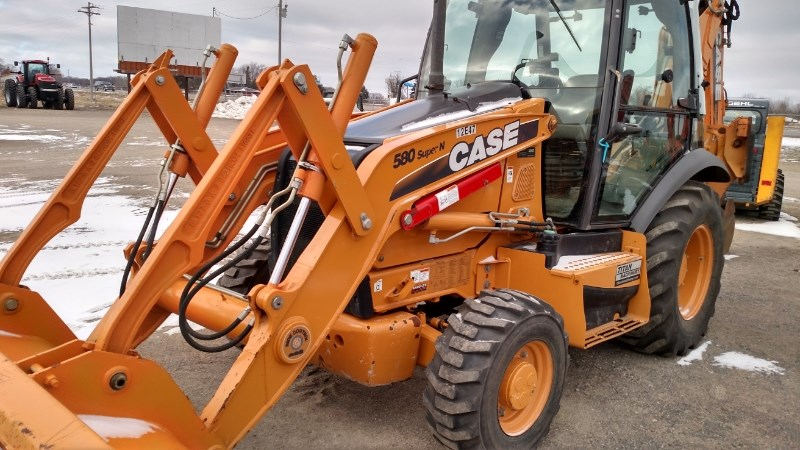 2011 Case 580 SUPER Excavator-Track For Sale