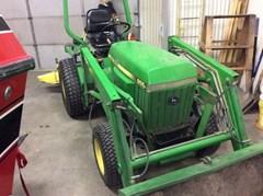 Tractor For Sale:  1997 John Deere 855 , 19 HP