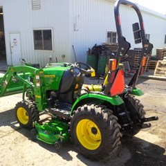 Tractor For Sale 2014 John Deere 2025R , 25 HP