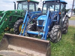 Tractor For Sale 2004 New Holland TN75DA , 62 HP