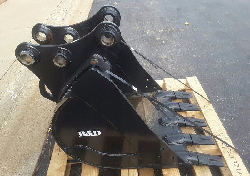 2016 B&D Fabricators SK55GP24 Excavator Bucket For Sale