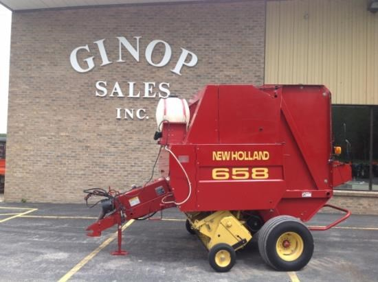 1999 New Holland 658 Baler-Round For Sale