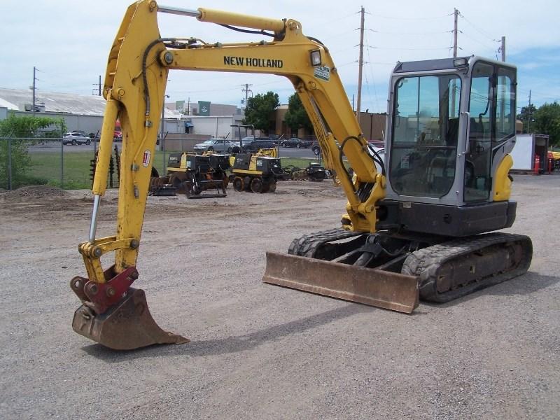 2013 New Holland E55B Excavator-Mini For Sale