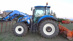 Tractor For Sale 2015 New Holland T5.115 , 115 HP
