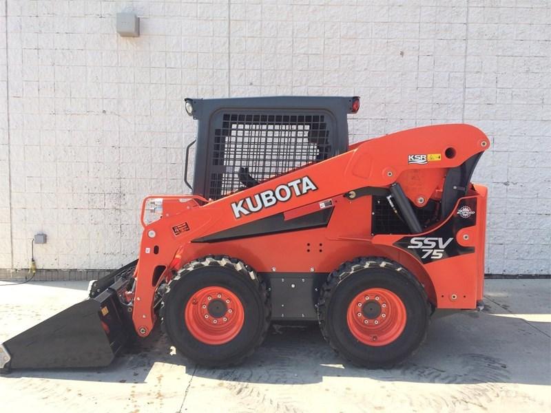 2017 Kubota SSV75 Skid Steer