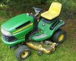 Riding Mower For Sale: 2010 John Deere LA145, 22 HP