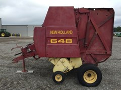 Baler-Round For Sale:  2000 New Holland 648