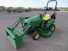 Tractor For Sale:  2012 John Deere 1023E , 23 HP