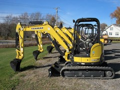 Excavator-Mini For Sale:  2016 Yanmar VIO35 6A , 24 HP