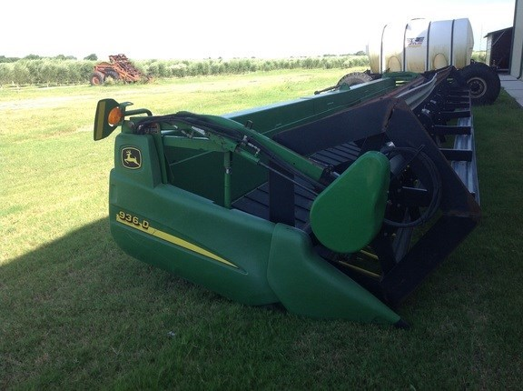 2007 John Deere 936D Header-Draper/Rigid For Sale