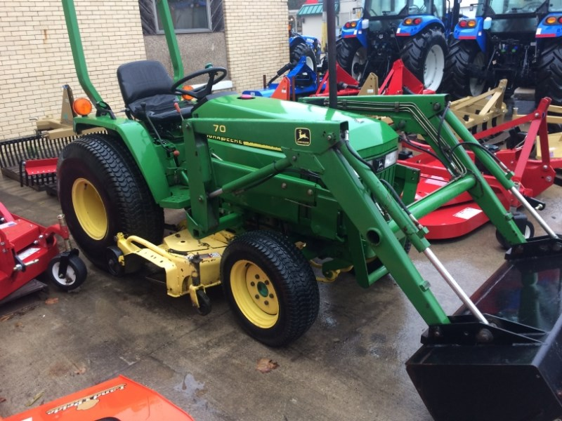 2002 John Deere 790 Tractor For Sale