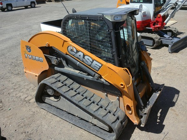 2013 Case TV380 Skid Steer-Track For Sale