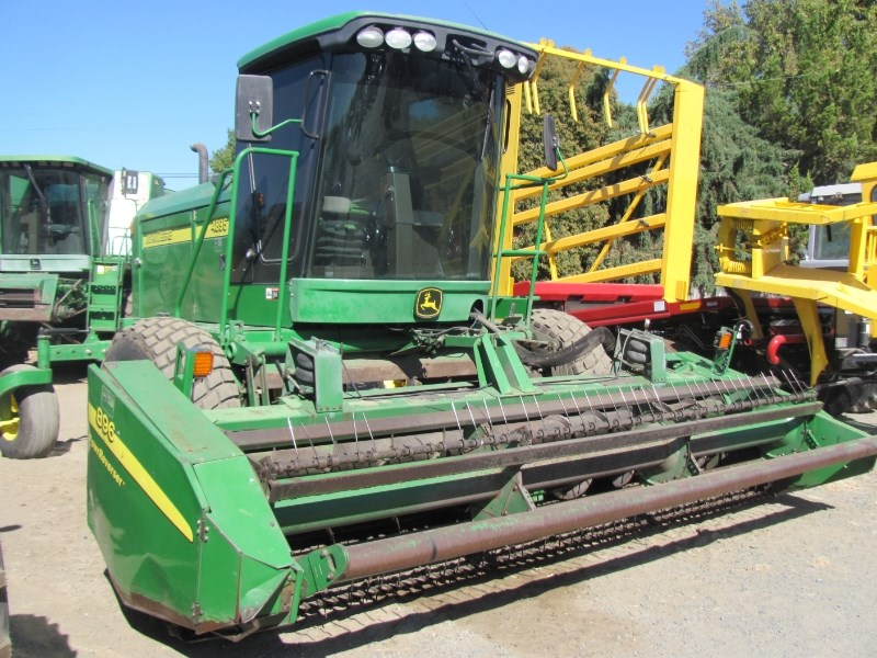 2007 John Deere 4895 Windrower-Self Propelled For Sale