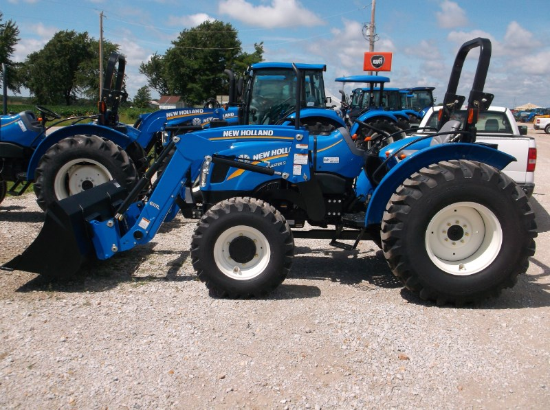 New Holland (NEW) NH Workmaster 50 4x4 Industrial Tires Tractor For Sale