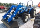 Tractor For Sale:   New Holland (NEW) Workmaster 70 4x4 Industrial Tires , 70 HP