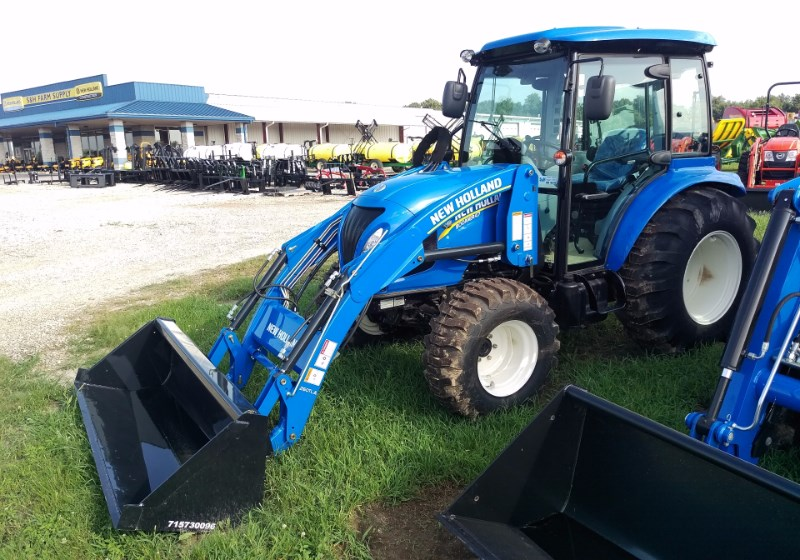 2016 New Holland (NEW) Boomer 47 Cab, HYDRO Tractor For Sale