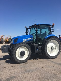 Tractor :  2014 New Holland T6.155