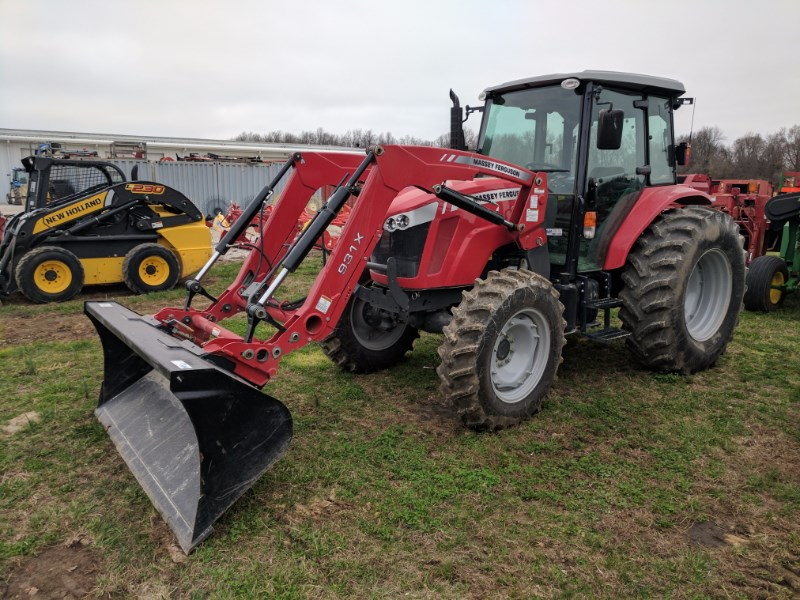 2014 Massey Ferguson 4610 Tractor For Sale