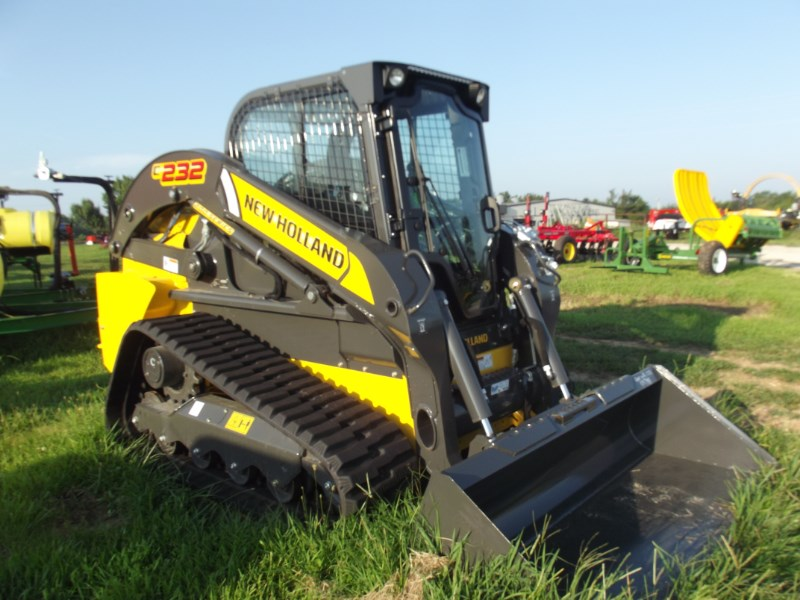 New Holland (NEW) C232 Cab Foot Controls Skid Steer For Sale