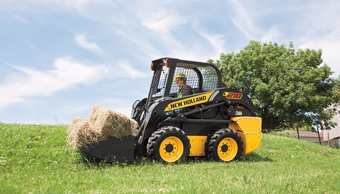 New Holland (NEW) L218 Skid Steer For Sale