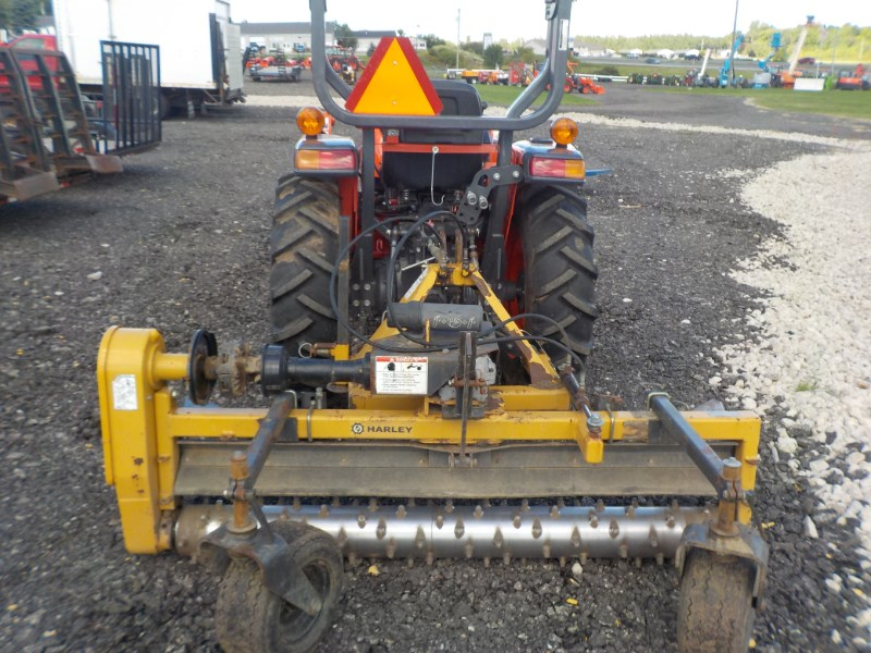 2007 Harley T6 3 Point Backhoe Attachment