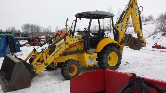 2008 New Holland B95TC Loader Backhoe