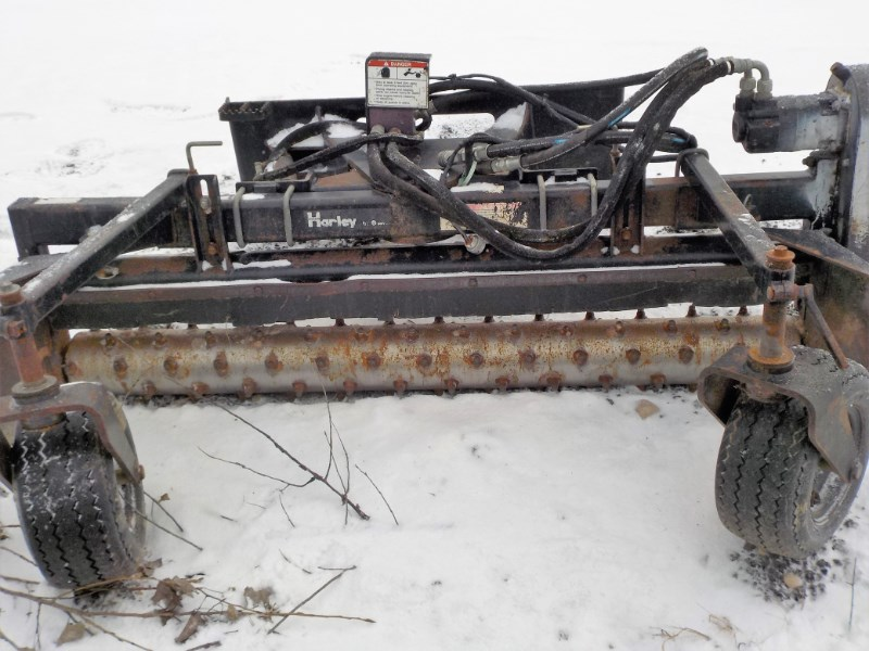 2008 Harley M6 3 Point Backhoe Attachment