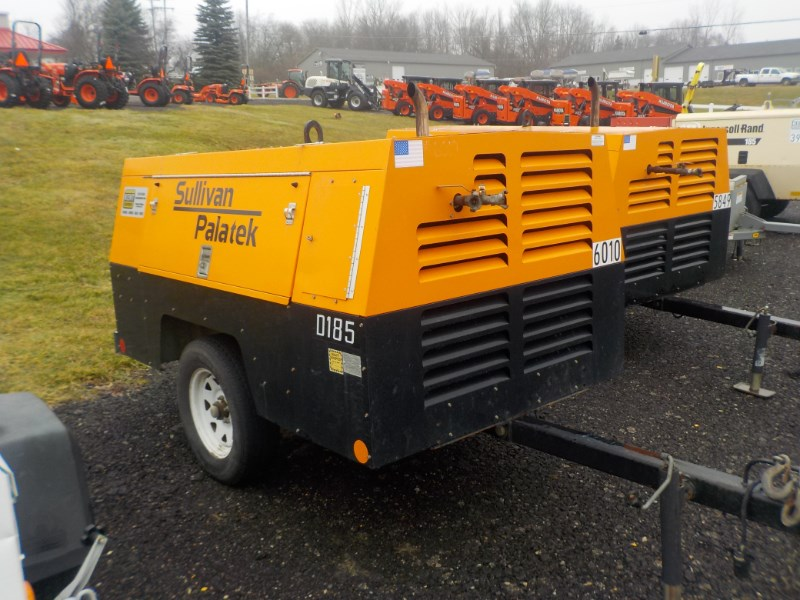 2012 Sullivan D185PJD Air Compressor