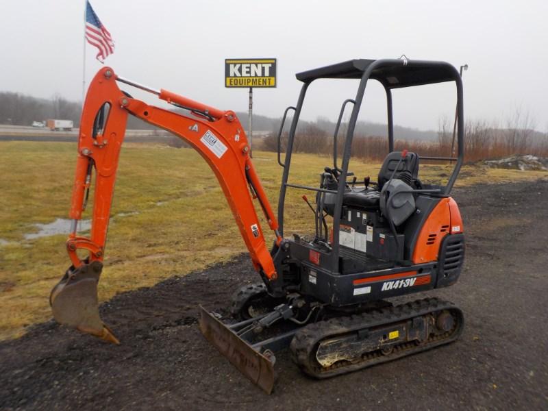 2013 Kubota KX41VR1T4 Excavator-Mini