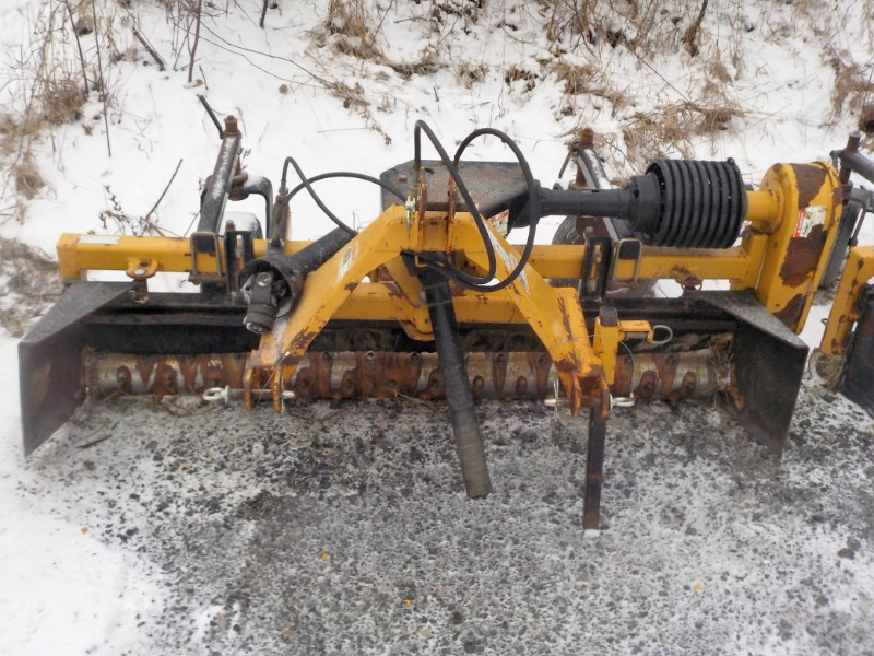 Harley T6 3 Point Backhoe Attachment