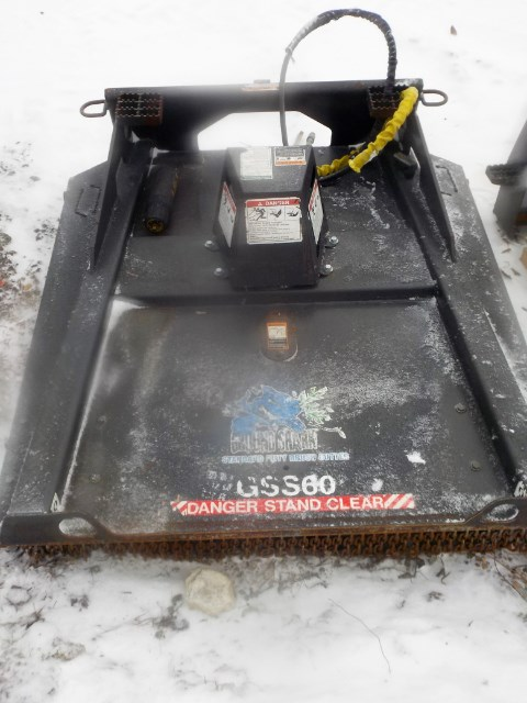 2013 Bradco GSS60 Rotary Cutter