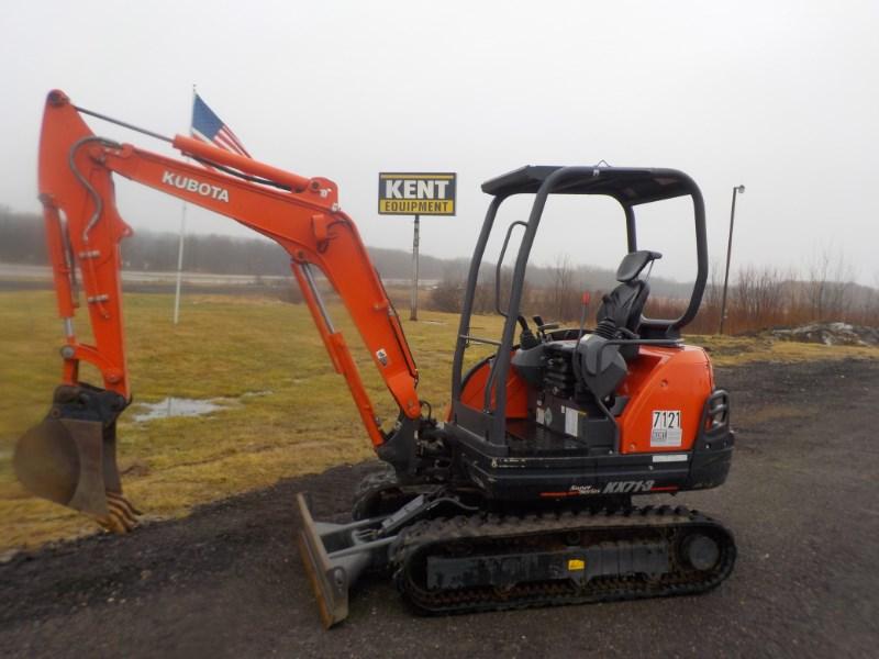 2013 Kubota KX71-3S4R Excavator-Mini