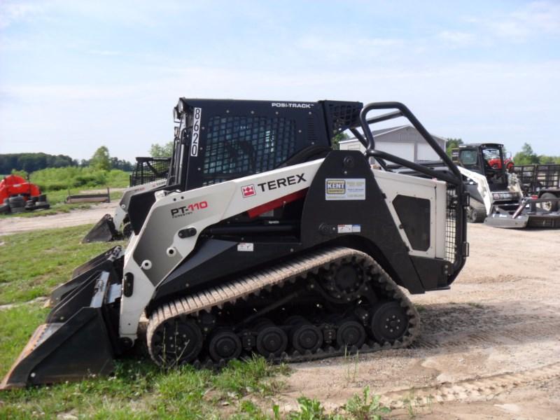 2015 Terex PT110F Skid Steer-Track