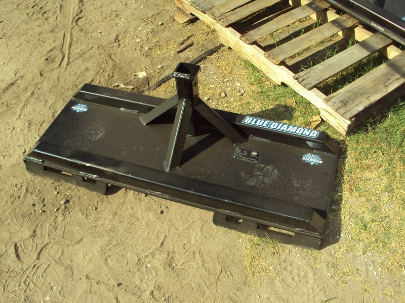 Blue Diamond Trailer mover Skid Steer Attachment For Sale