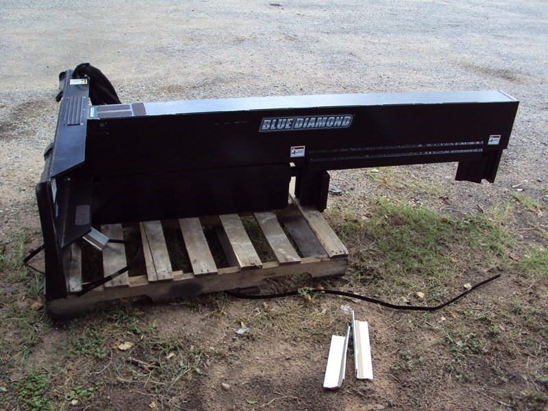 Blue Diamond Skid Steer Mounted Log Splitter For Sale