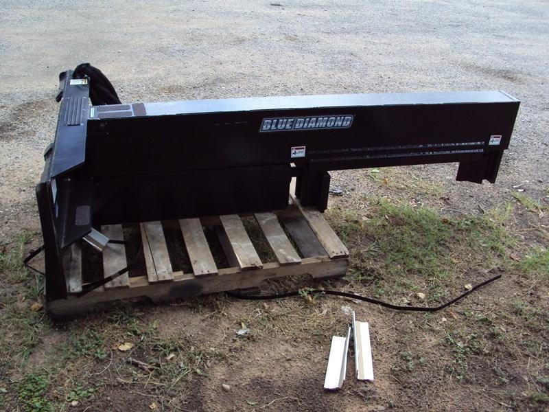 Blue Diamond Skid Steer Mounted Log Splitter For Sale