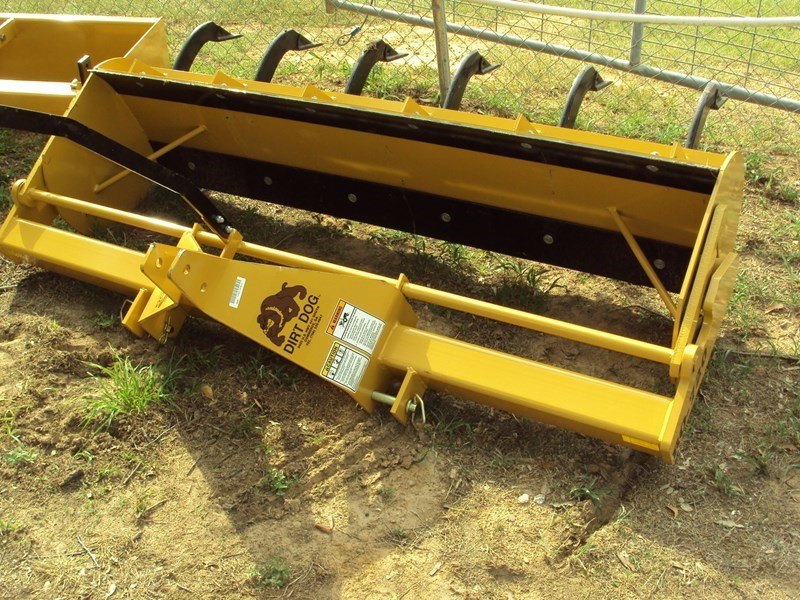Dirt Dog 6FT Roll Over Blade Box Blade Scraper For Sale