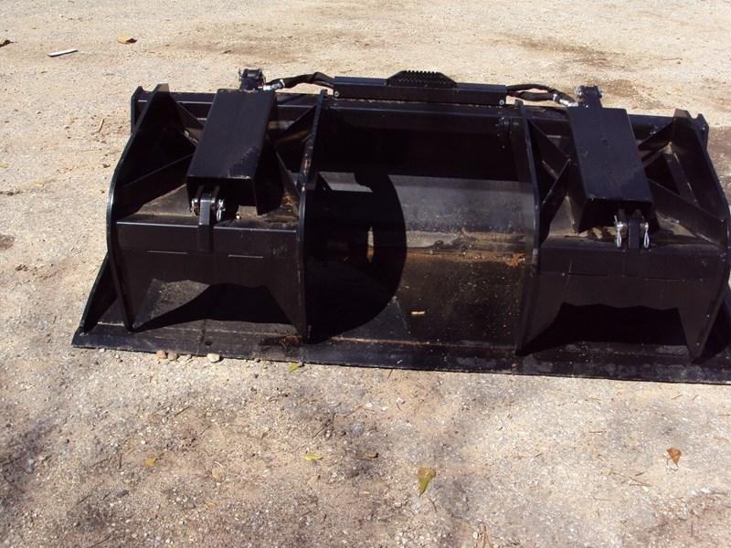 "Dirt Dog 72"" HD Flat Bottom Grapple For Sale"