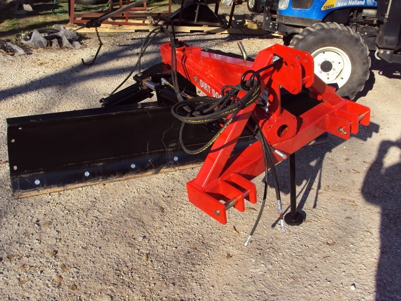 Dirt Dog 8FT Hyd Blade Blade Rear-3 Point Hitch For Sale