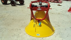 Fertilizer Spreader For Sale:  Cosmo 3PT Poly Spin Spreader